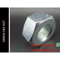 China M39*4.0 HEX NUT DIN934 Hexagon Nuts ZP Surface Grade 8 Carbon Steel Material on sale