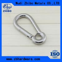 with no screw,stainless steel AISI304 or 316 DIN5299 stainless steel snap hook