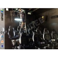 Visual Feast 9D Immersive Theater 9D Cinema With Electric , Pneumatic , Hydraulic System