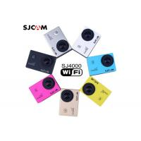 Quality White / Blue / Yellow Colorful Customized 1080P Action Camera High Resolution for sale