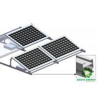 China Framed PV Module Ballasted Solar Mounting Systems No Roof Penetration wholesale
