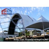 China Lightweight Aluminum Truss System , Mental Triangle Ladder Truss For Church wholesale