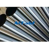 China TP321 / 321H ERW Stainless Steel Welded Tube For Sewage Engineering wholesale