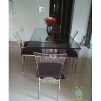 China acrylic breakfast bar and stools set wholesale