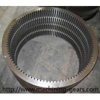 China Rotary Kiln Internal Tooth Gear / Ball Mill Hss Large Ring Gear Abrasion Resistant wholesale