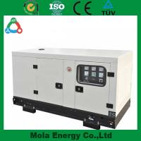 20KW Soundproof AC 3 Phase Output Type biogas generator