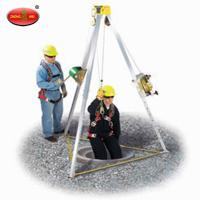 China 1100 lbs 87.75in Lift Rescue Tripod for Fire Fighting wholesale