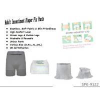 Quality Boxer Shorts Washable Adult Incontinence Products - Holds Incontinence Pads In for sale