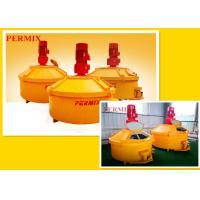 China High Wear Resistant Rubber Planetary Cement Mixer , High Speed Operation Cement Concrete Mixer wholesale