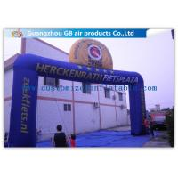 China Commercial Digital Printing Custom Inflatable Arch For Amusement Park wholesale
