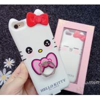 China Iphone 7 Apple Phone Power Bank Case  Hello Kitty With Ring Holder 4000 Mah wholesale