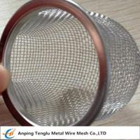 China Stainless Steel Rimmed Bowl/Dome Shape Filter|Made by Aluminum and Stainless Steel wholesale