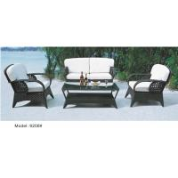 China 4-piece patio Resin Wicker Contemporary Deep Seat Sofa with Cushion -9208 wholesale
