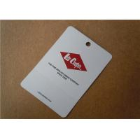 China Printed Paper Tag Fabric Woven Clothing Labels Custom Apparel Tags And Labels Lightweight wholesale