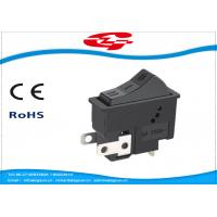 China 3 Pin On On Off 3 Position Rocker Switch For Hair Dryer , Long Mechanical Life wholesale