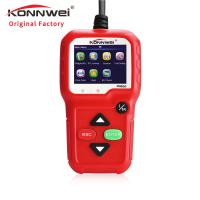 China Red Portable Auto Diagnostic Machine KW680 For All 1996 And Later OBDII Compliant US European And Asian Vehicl wholesale