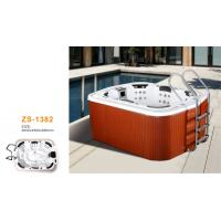 Buy cheap Outside home whirlpool tub massage jets for family use with steps from wholesalers