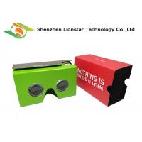 Buy cheap Multi Color Smart 3D VR Goggles Light Weight For Live Shows / Tourism Marketing from wholesalers