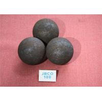 Quality Cement Plants Hot Rolling Grinding Media Steel Balls for Ball Mill / Chemical for sale