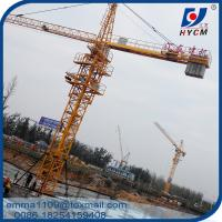 China TC5011 50M Building Tower Crane 4t Construction Machine 1.1 Tip Load on sale