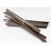 China 99.95% Purity Tungsten Products , Dia6*150mm Tungsten Rod / Round Bar on sale