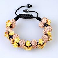 China 2012 hot sell crystal 10mm beads Tresor Paris Shamballa Bracelets with lower price wholesale