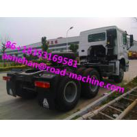 China 6X4 EUROII SINOTRUK HOWO Tow Tractor Truck RHD 10 Wheels 371 HP ZZ4257S3241W wholesale