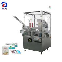 China 120L Vertical Automatic Pharmaceutical Blister Plates Cartoning Machine wholesale