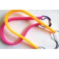 China twist silicone hair band elastic headband wholesale