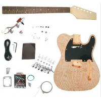 "China Custom Unfinished 39"" DIY Electric Guitar Kits Bolt on Neck Guitar AG-TL2 wholesale"