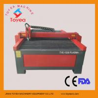 China 60A Huayuan plasma source CNC plasma cutting machine for cutting stainless steel  TYE-1530 on sale