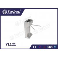 China Tailing Gating Vertical Semi - Tripod Turnstile Gate With Access Control System wholesale