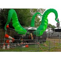 China Large Inflatable Tentacle Green FlameRetardant For Roof Decoration wholesale