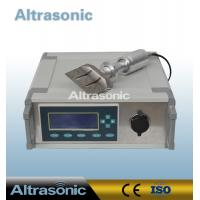 China Continuous Ultrasonic Cutting Machine with 82mm Titanium Alloy Sonotrode wholesale