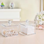 China New Style Vanity Container Aluminum Acrylic Makeup Storage Box wholesale