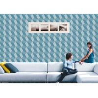 China 3D Effect Geometric Contemporary Wall Covering , 0.53*10M / Roll , Non-Pasted wholesale