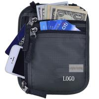 China Anti Theft Waterproof RFID Concealed Travel Bag With Passport Holder wholesale
