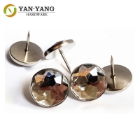 Buy cheap Sofa Crystal Round Diamond Acrylic Upholstery Buttons for furniture from wholesalers