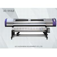 China Sublimation Eco Solvent Printers High Resolution For Textile 1440dpi Galaxy UD 1812LB wholesale