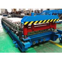 Color Steel Roofing Sheet Roll Forming Machine With Automatic Stacker