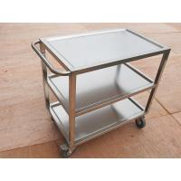 China Hotel Professional Platform Truck Trolley With Folding Handle For Transport on sale