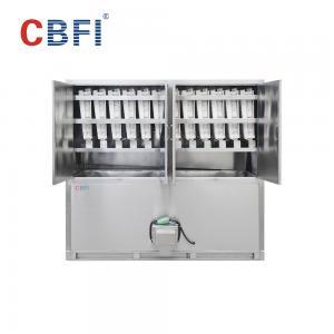 China PLC control system  Ice Cube Maker Machine low power consumption wholesale