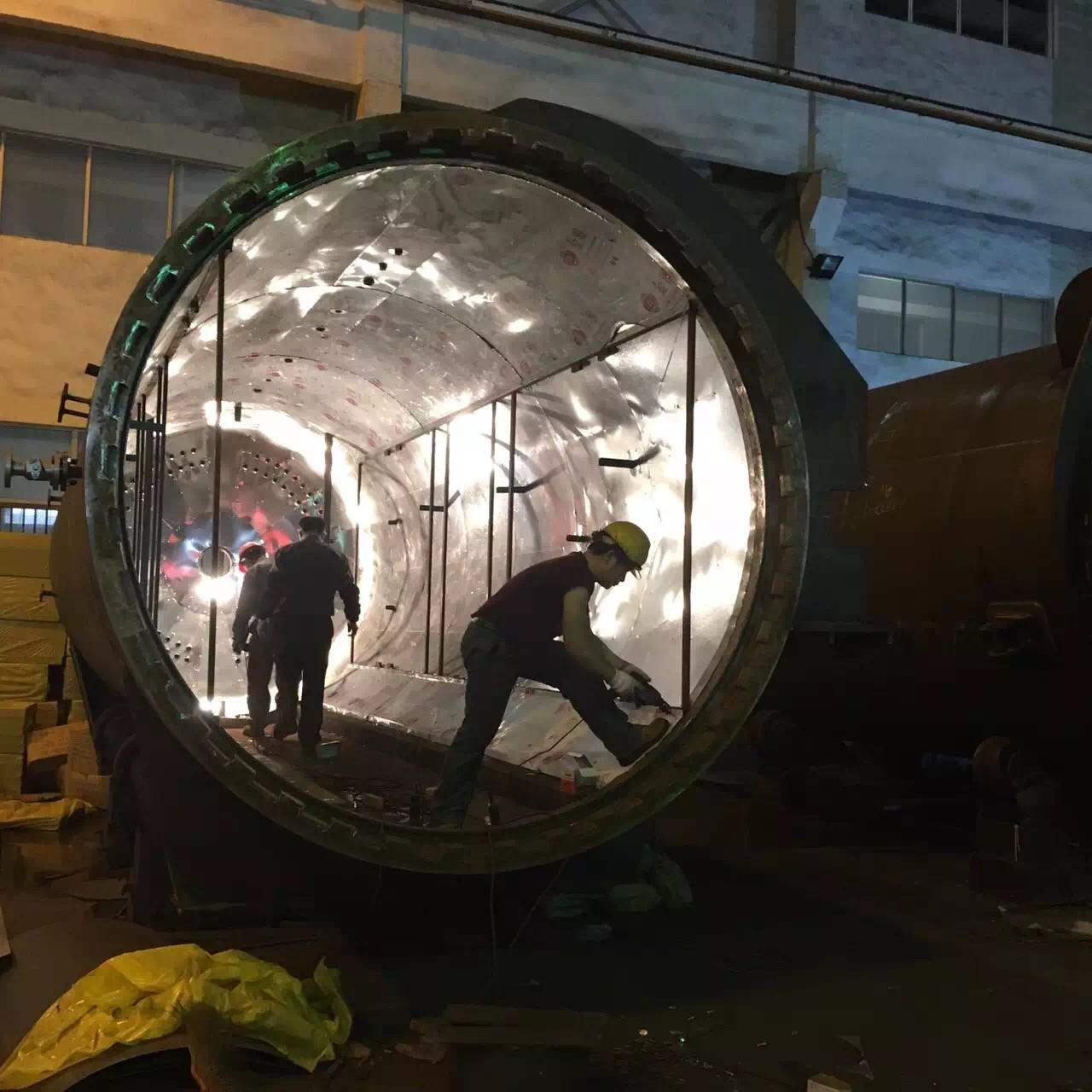 High pressure Wood Treatment Autoclave with size of 4500mm,suitable for CCA