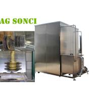 China Large Saw Blade Industrial Ultrasonic Cleaning Machine 540L Continuous Operation wholesale