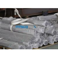 China TP321 / 321H Stainless Steel Seamless Hydraulic Tubing With Bright Annealed Surface wholesale