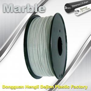 China 3mm 1.75mm 3D Printer Filament Flexible 3d Printing Filament Marble Filament wholesale