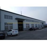 China Prefabricated Flat Roof Steel Workshop Buildings Environment Protection wholesale