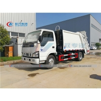 China ISUZU 5 Tons Garbage Compactor Truck For Waste Management wholesale
