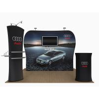 China 20 Feet Tension Fabric Exhibition Stands Fabric Tube Display Weather Resistant wholesale