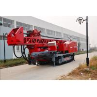 China The maximum drilling depth1500m Top Drive Rig Oilfield workover Drilling Rig With Crawler Mounted wholesale